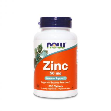 Цинк Now Foods (Zinc Gluconate), 250 табл.